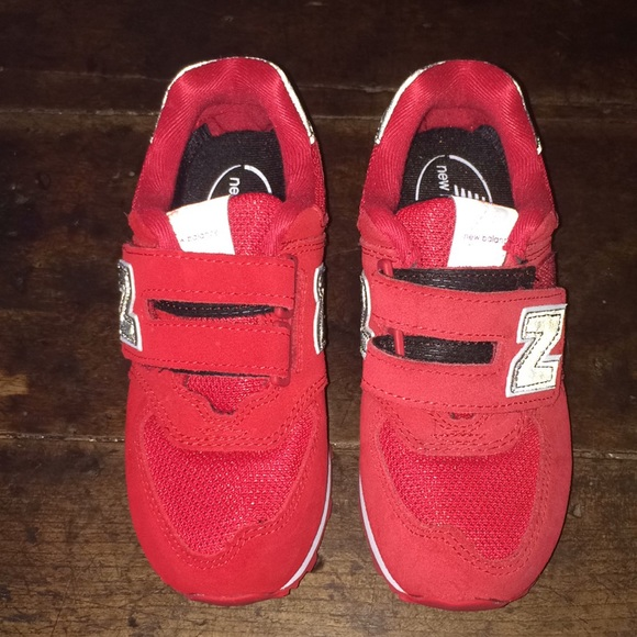 separation shoes 048e3 4e5ab New Balance 574 Kids Size 12.5 Red Sneakers. M 5a99c1c23afbbda49ef8510c